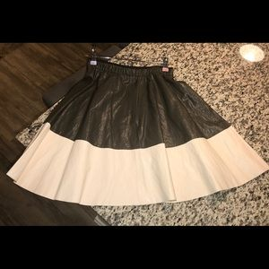 New Faux Leather Zara Skirt Size Small